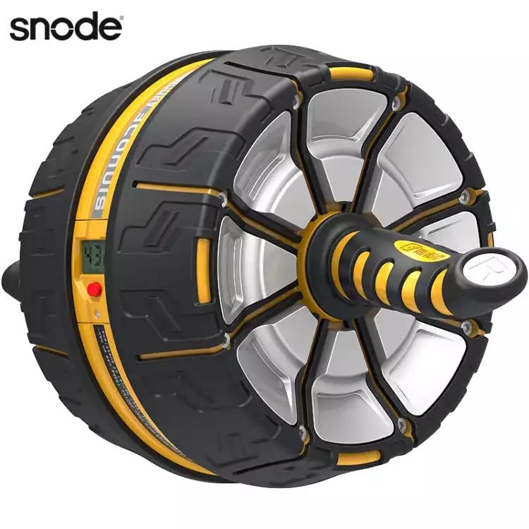 美国斯诺德健腹轮 自动回弹静音巨轮收腹滚轮腹肌轮健腹器减肥健身器材 S550智能大黄蜂
